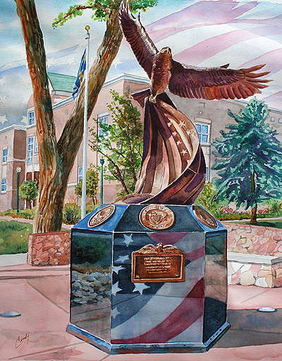 """Tribute"" Douglas County Veterans Monument"