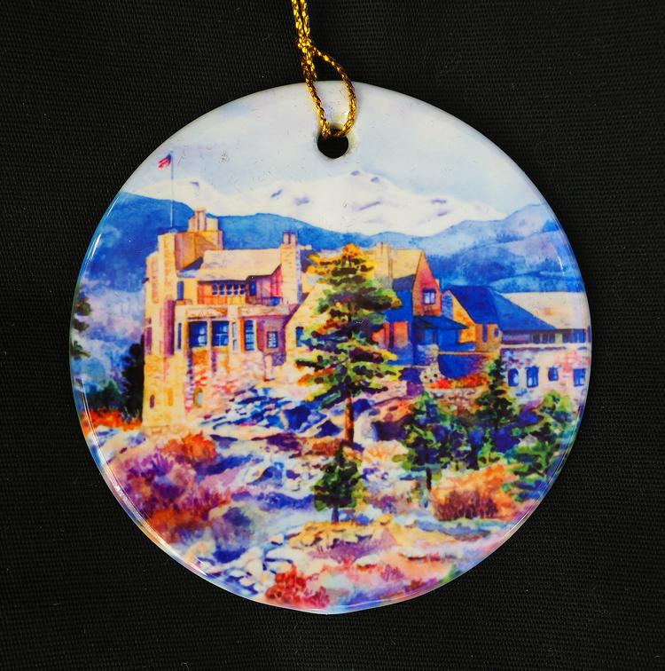 Cherokee Castle Ornament