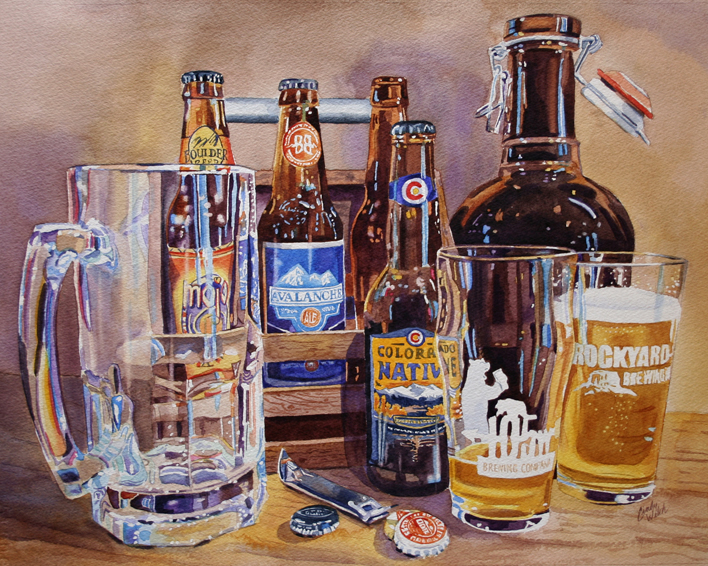 "Painting ""Colorado Craft"" was chosen to be published in the book Splash 20!"