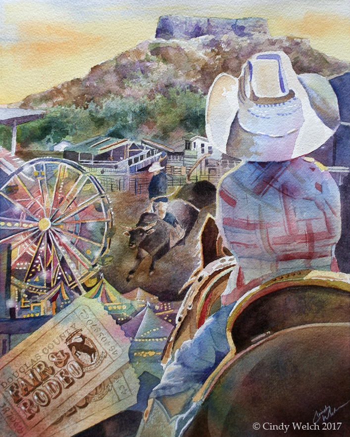 Prints of 2018 fair poster available now from Cindy Welch.