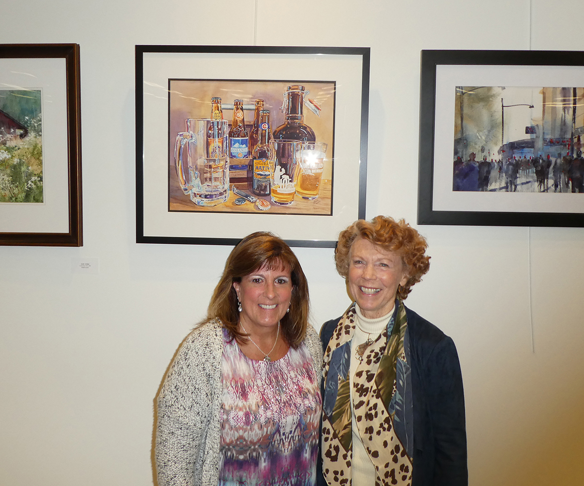 Reception for the Colorado Watercolor Society State Show in Colorado Springs, CO