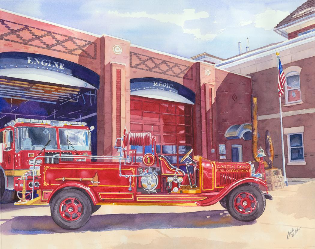 """""""Castle Rock Fire Department"""""""