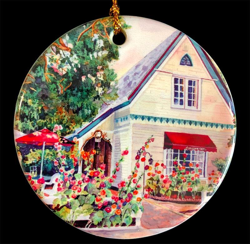 """Augustine Grill"" Ornament"