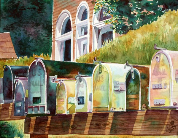"""Mailboxes"""