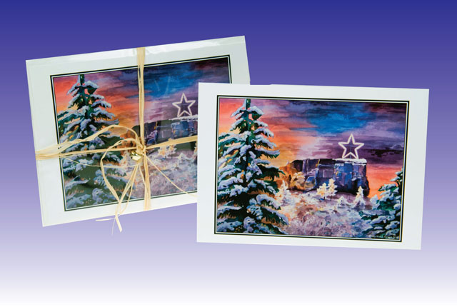 Castle Rock Star Greeting Cards