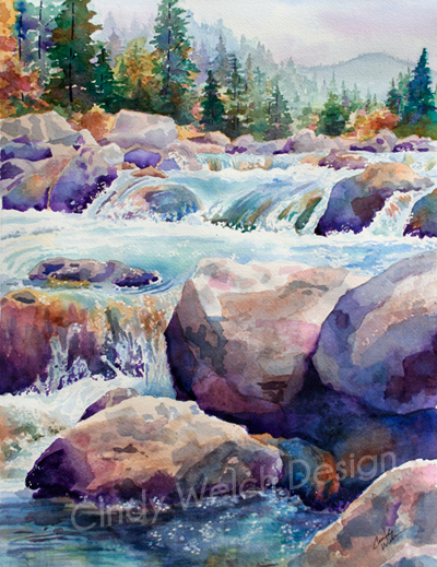 """Cascading River"""