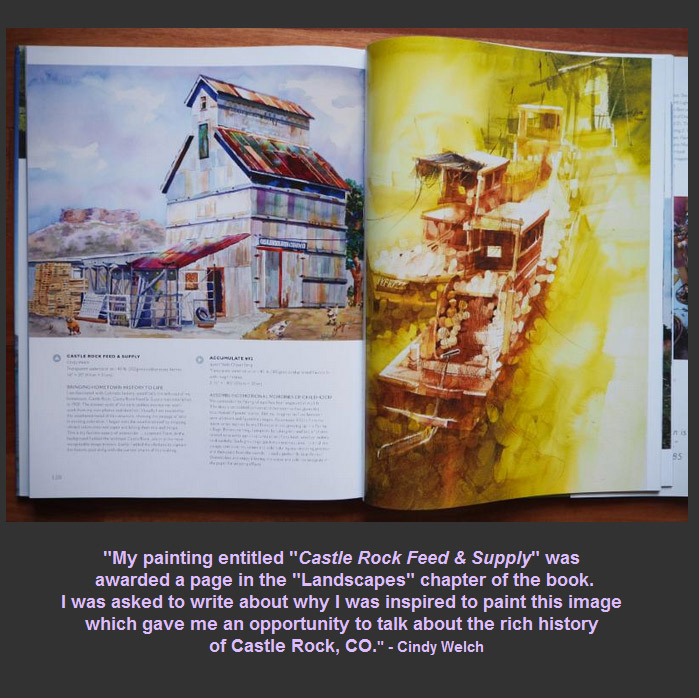"Cindy's work is featured in the new book ""Splash 17, Inspiring Subjects"""