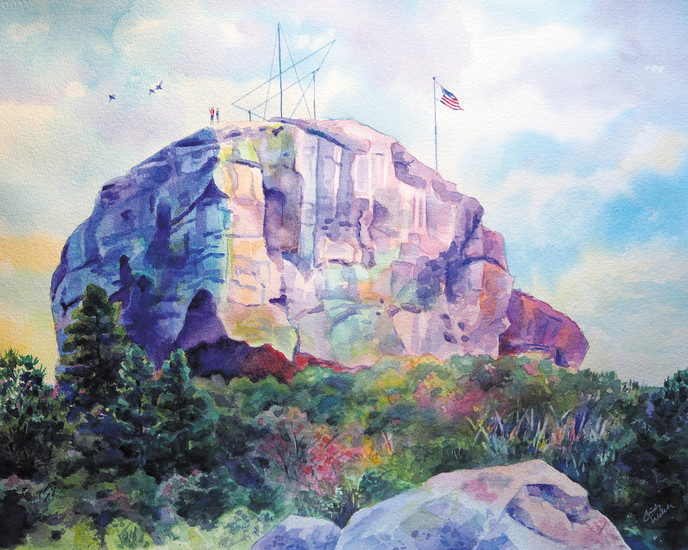 Cindy Welch's paintings record local scene