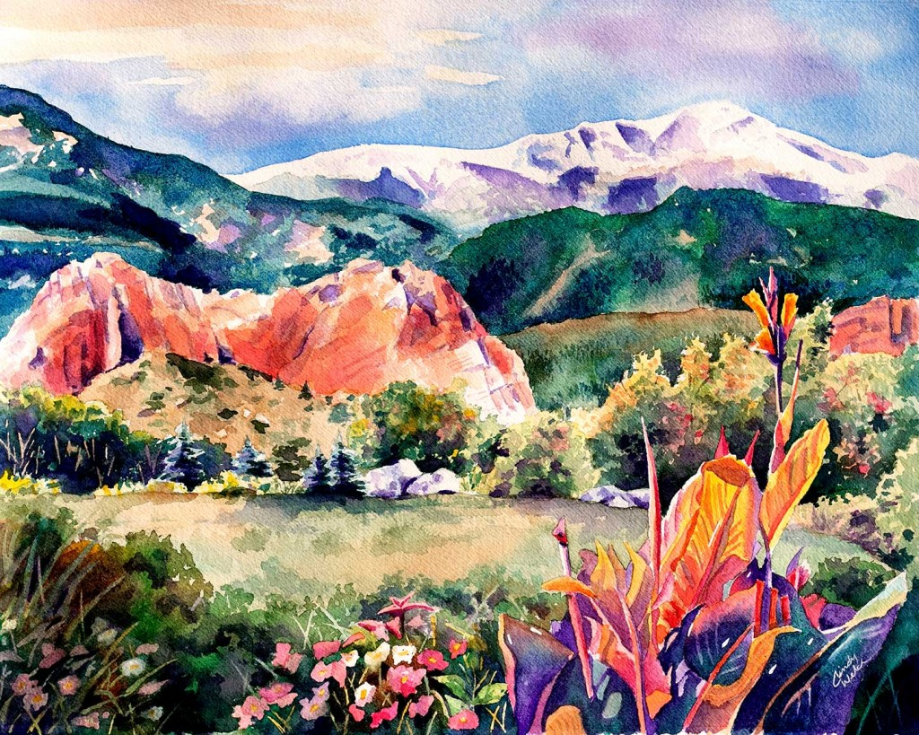 Garden of the Gods Painting Art