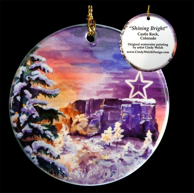 Castle Rock Starlighting Ornament