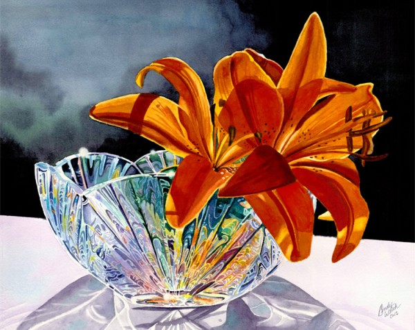 Lillies in crystal WEB2