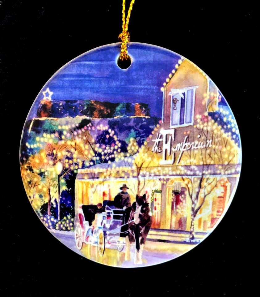 """""""The Emporium"""" Ornament"""