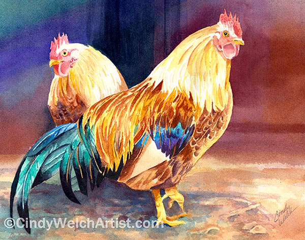 Roosters copyright2
