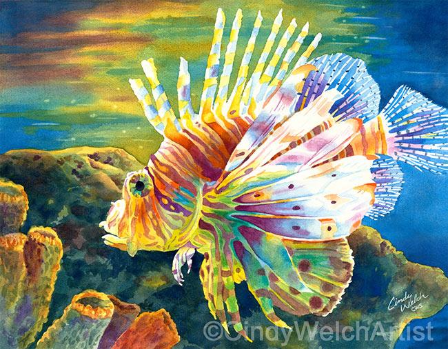 Lion Fish Web copyright2