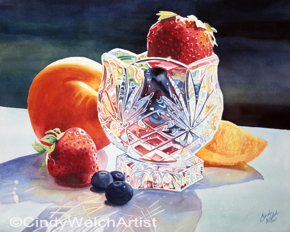 """Crystal and Fruit"""