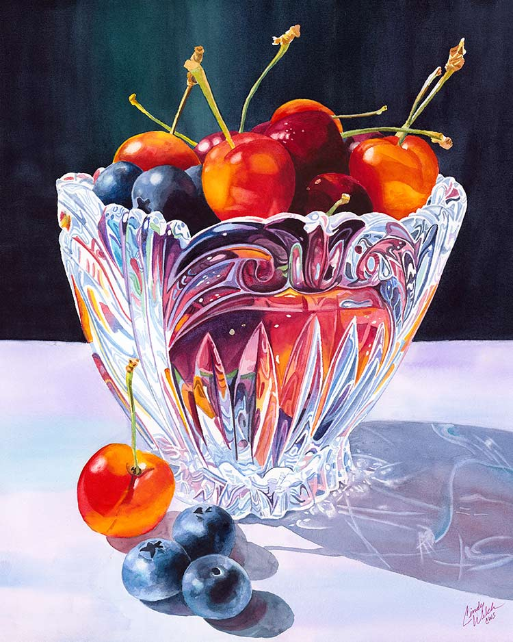 """""""Cherries in Crystal"""""""